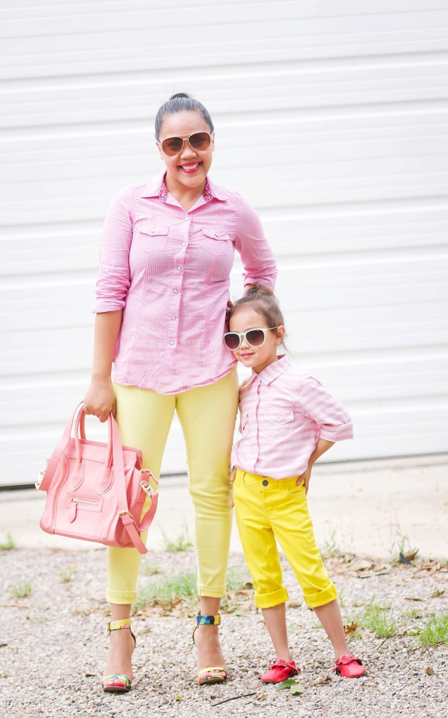 matchy-matchy/ momma & daughter style