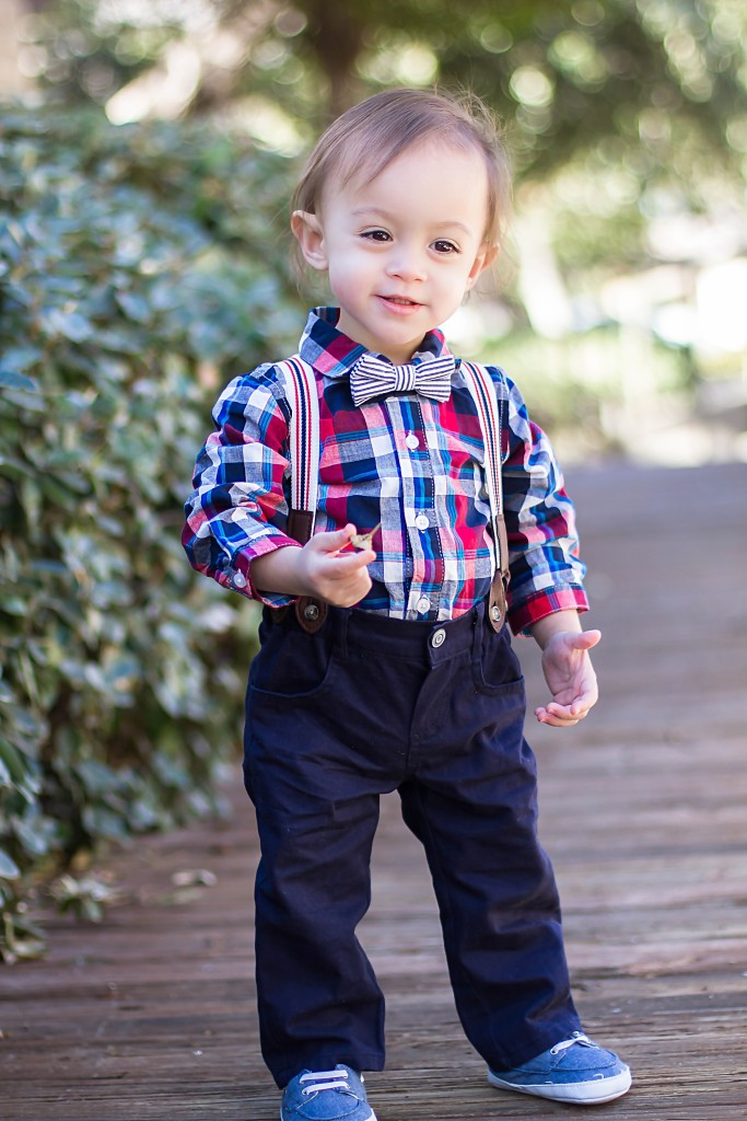 Toddler Style: Bowtie & Suspenders