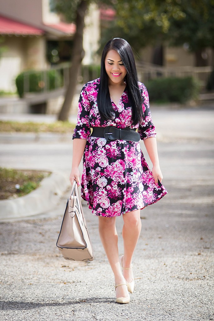 Gorgeous summer floral dress