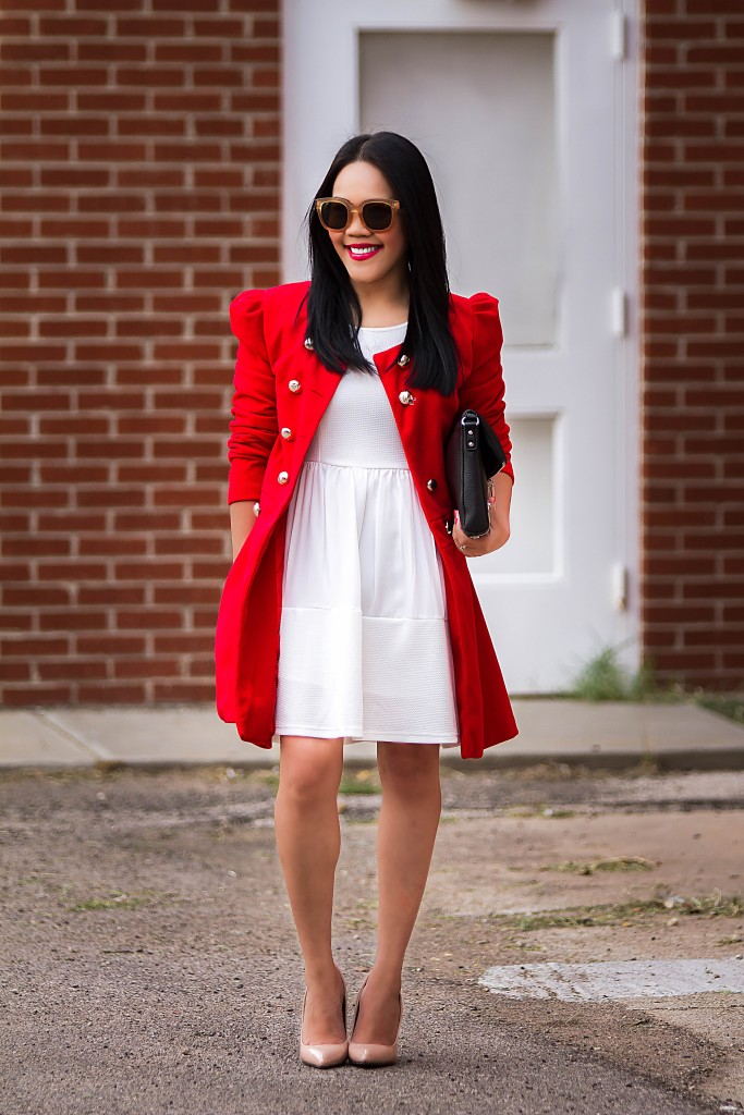 A royal little red-coat