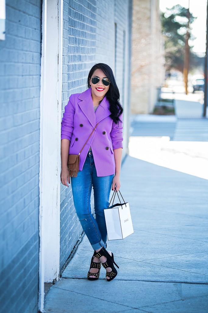 Keep calm and wear purple..