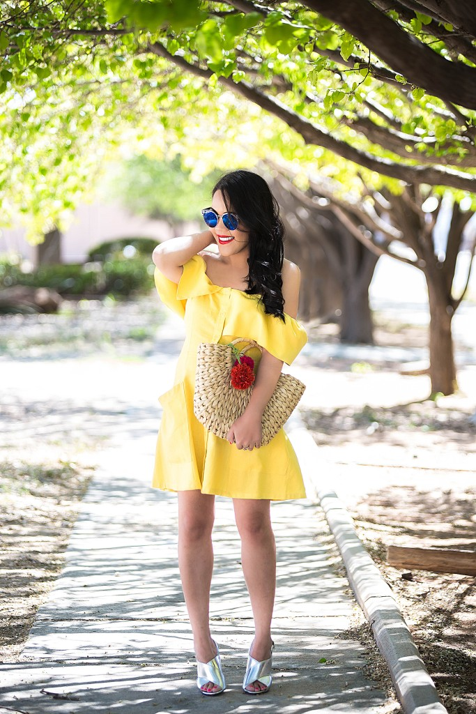 Bright sunny dress for a bright sunny day!