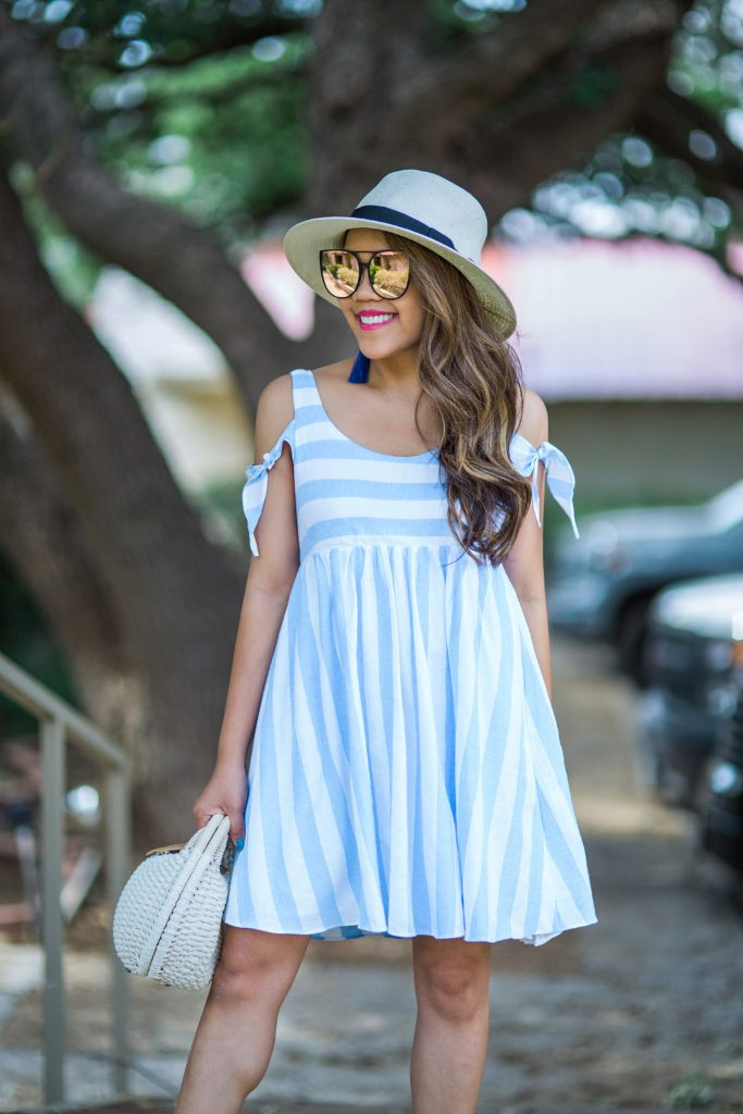 Stripes and ruffles