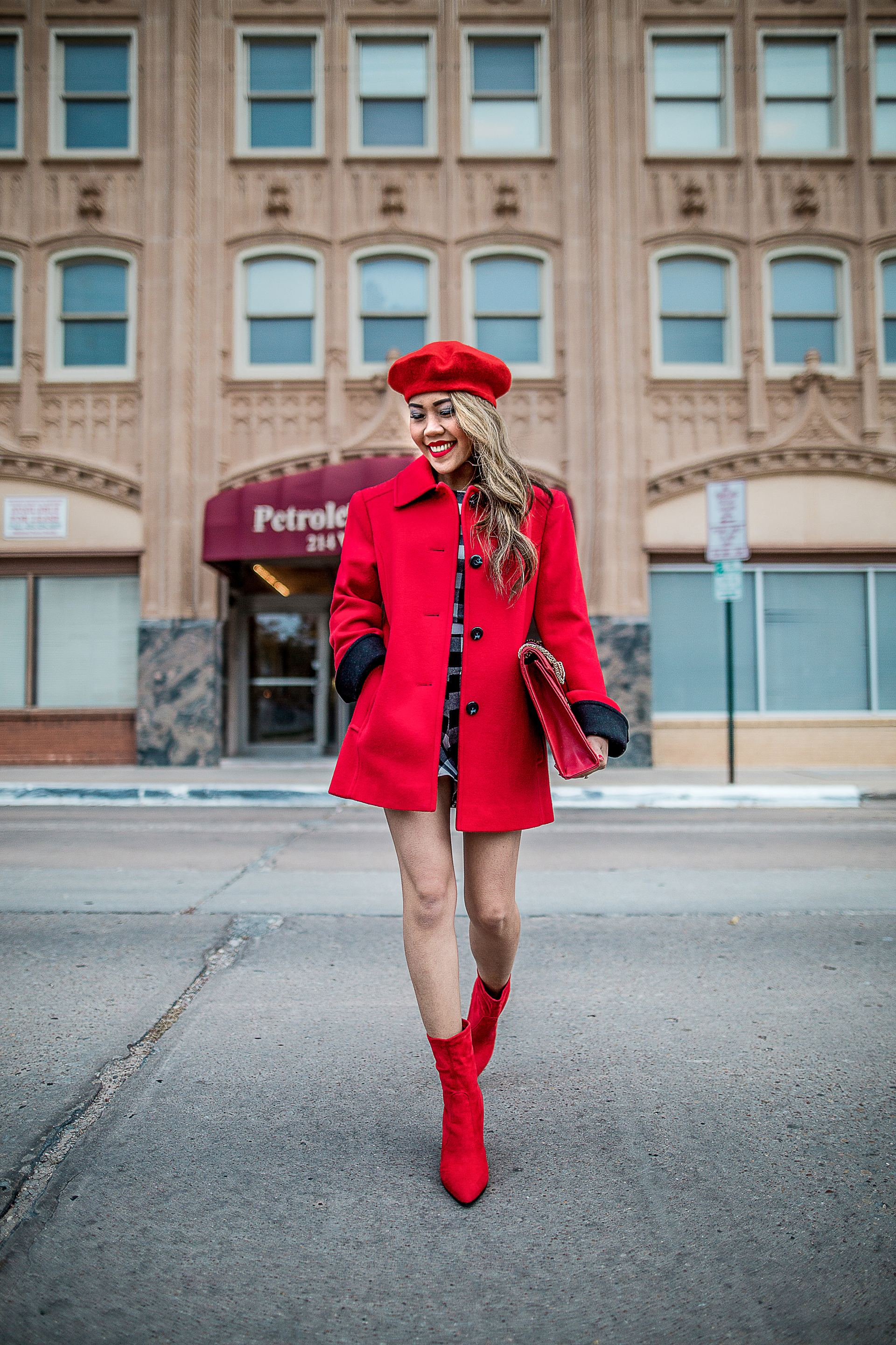 91e7b96a42d3 That Girl in the Red Coat – The Len Parent Style