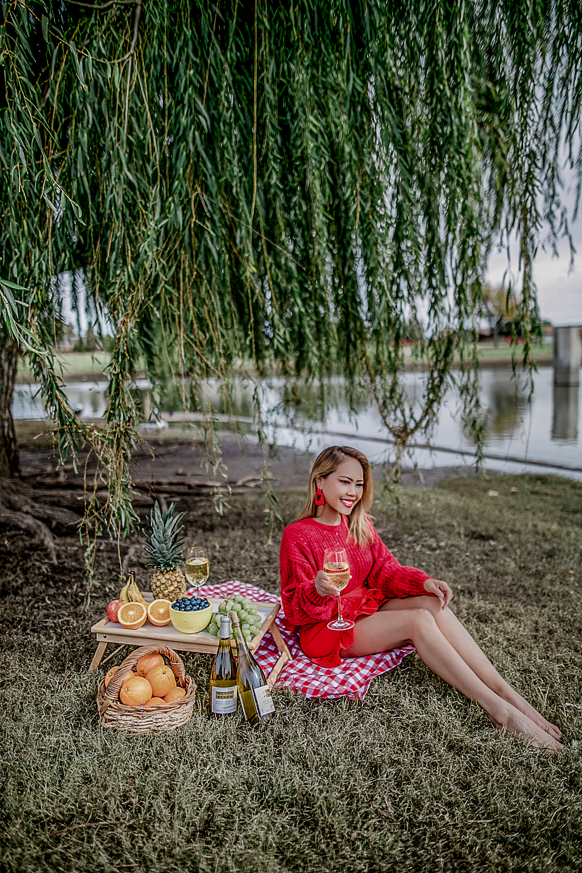 Picnic in November with Davis ByNum Wines