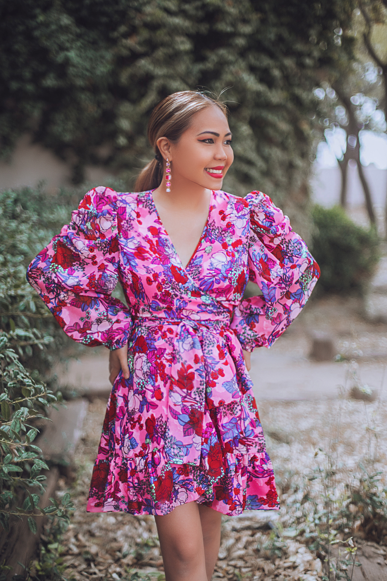 How to Wear a Floral Print Dress
