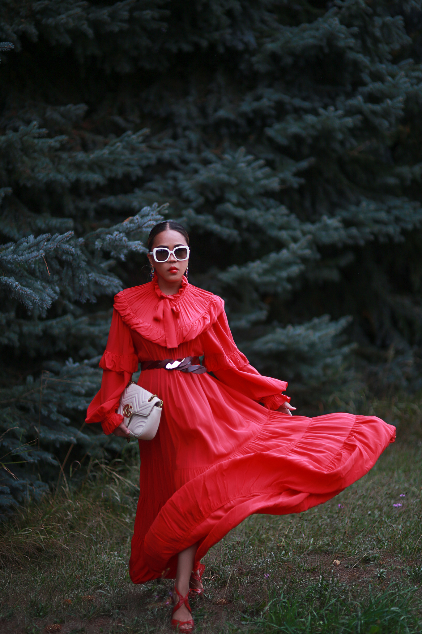 Why you need a red dress this Fall Season